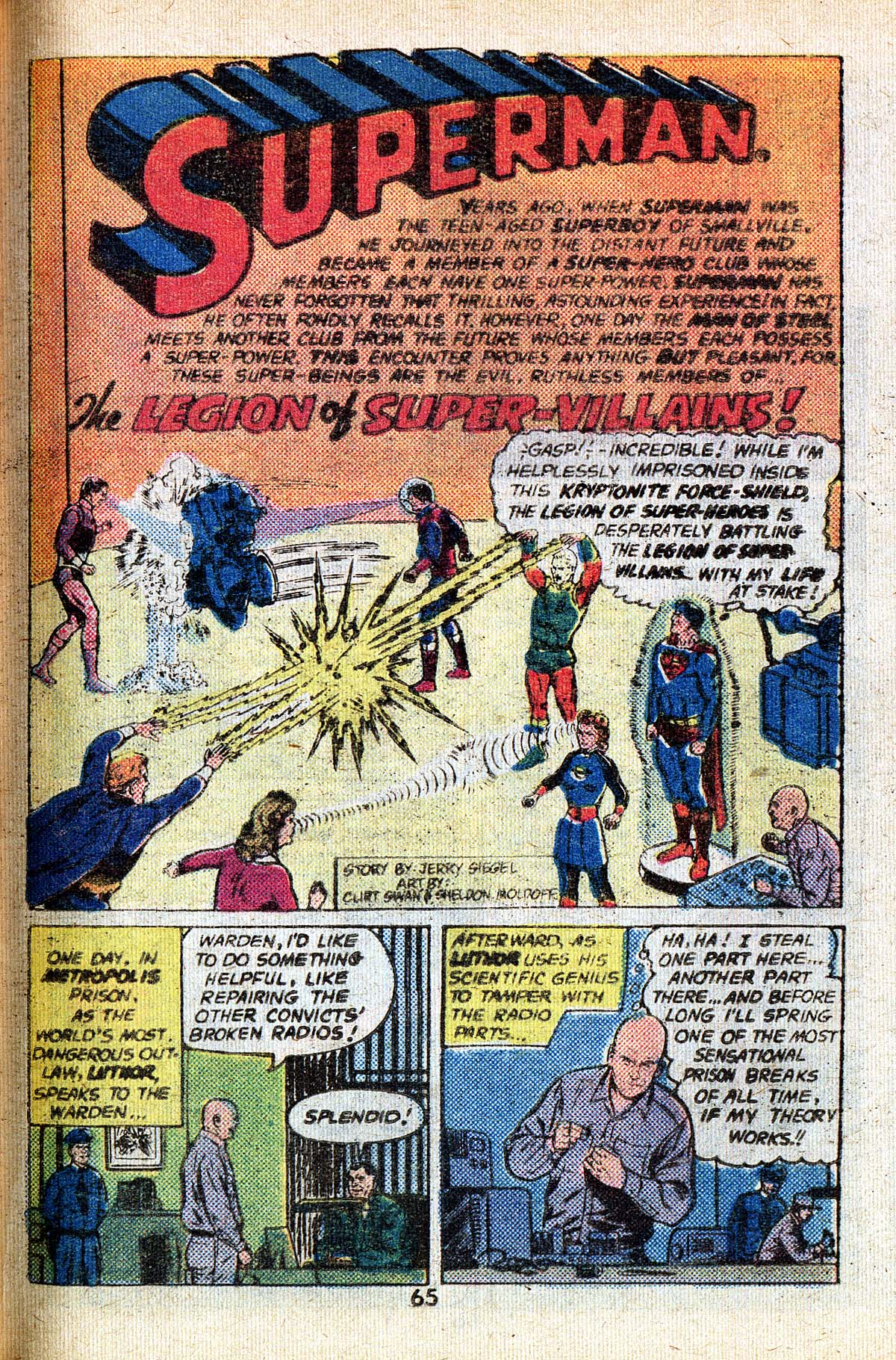 Read online Adventure Comics (1938) comic -  Issue #494 - 65