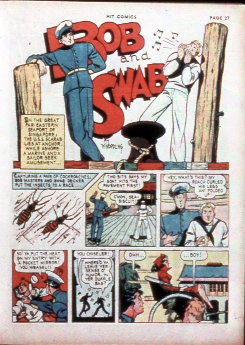 Read online Hit Comics comic -  Issue #14 - 29