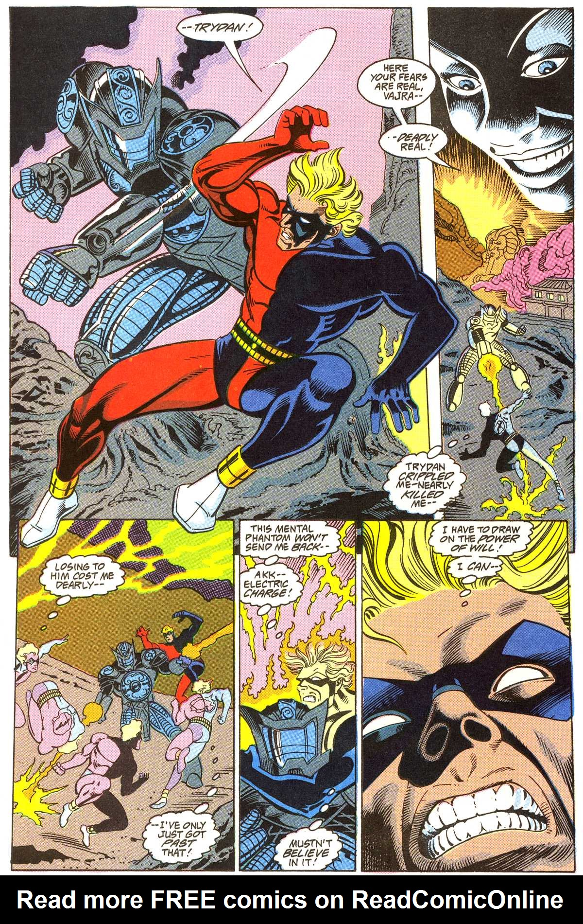 Read online Peter Cannon--Thunderbolt (1992) comic -  Issue #4 - 9