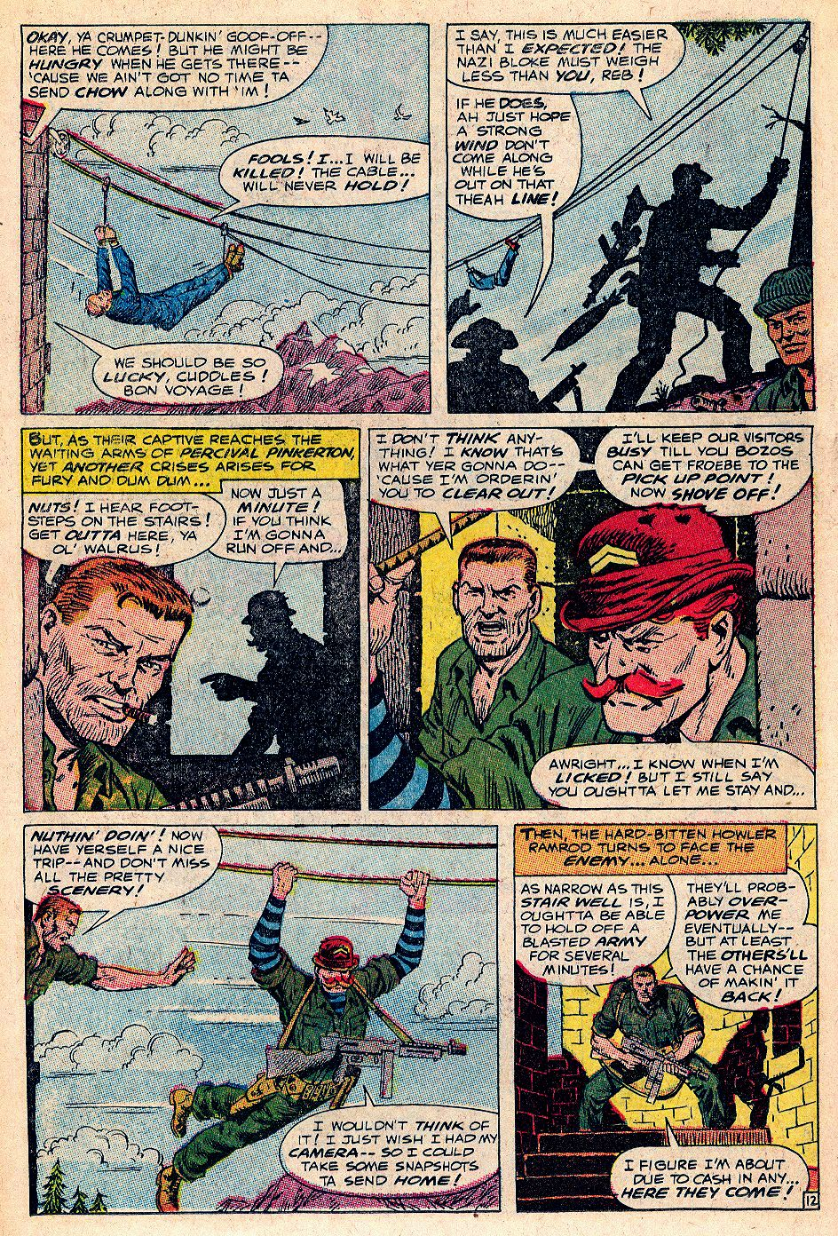 Read online Sgt. Fury comic -  Issue #53 - 18