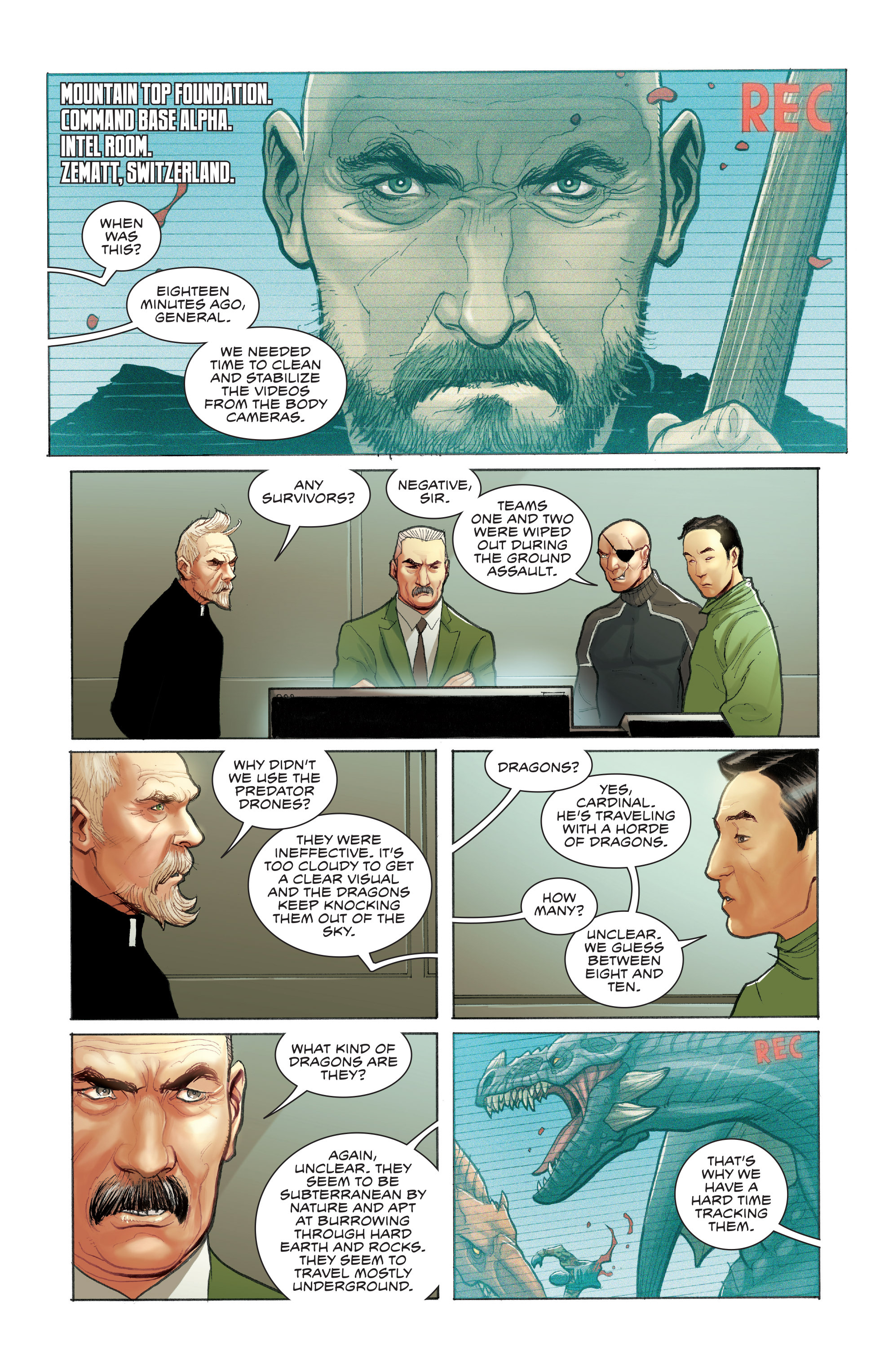Read online Skybourne comic -  Issue #3 - 7