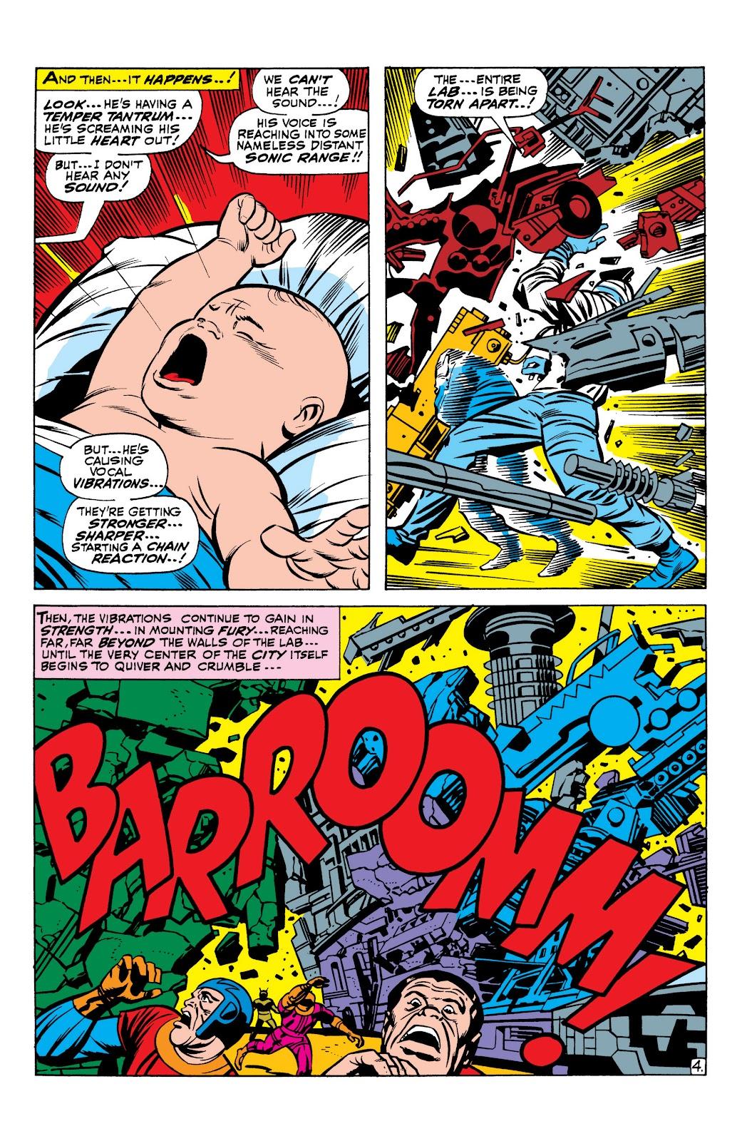 Read online Marvel Masterworks: The Inhumans comic -  Issue # TPB 1 (Part 1) - 21