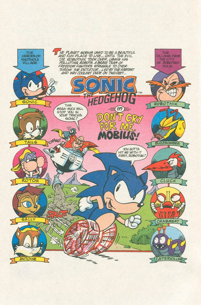 Read online Sonic Super Special comic -  Issue #3 - Sonic Firsts - 3