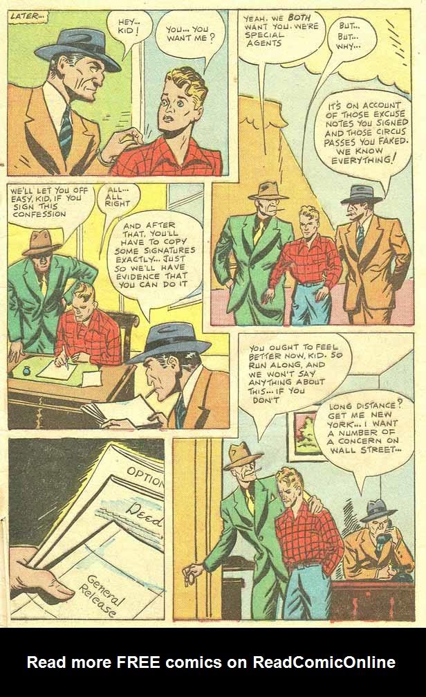 Read online Shadow Comics comic -  Issue #79 - 41