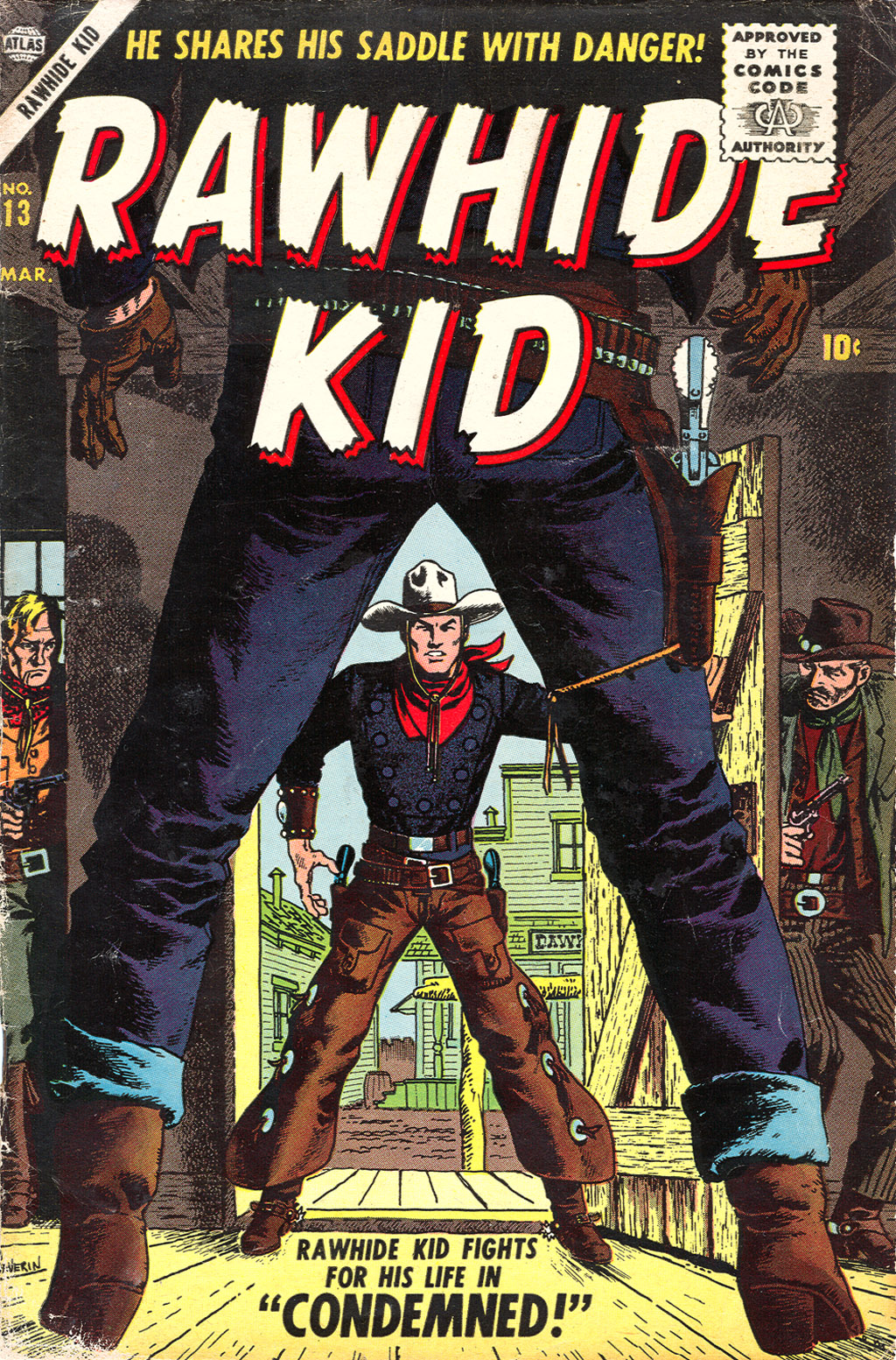 The Rawhide Kid (1955) issue 13 - Page 1
