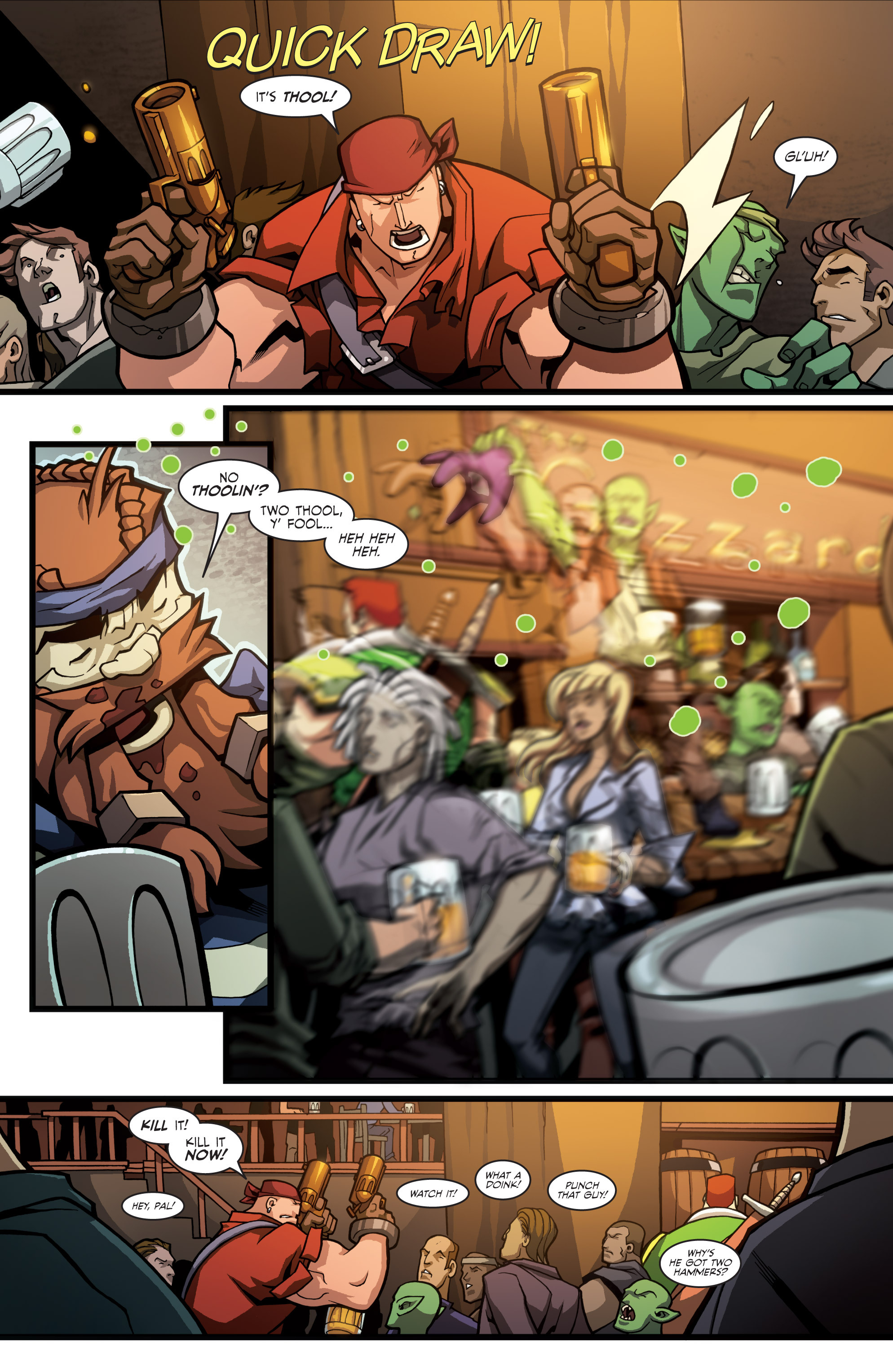 Read online Skullkickers comic -  Issue #23 - 9