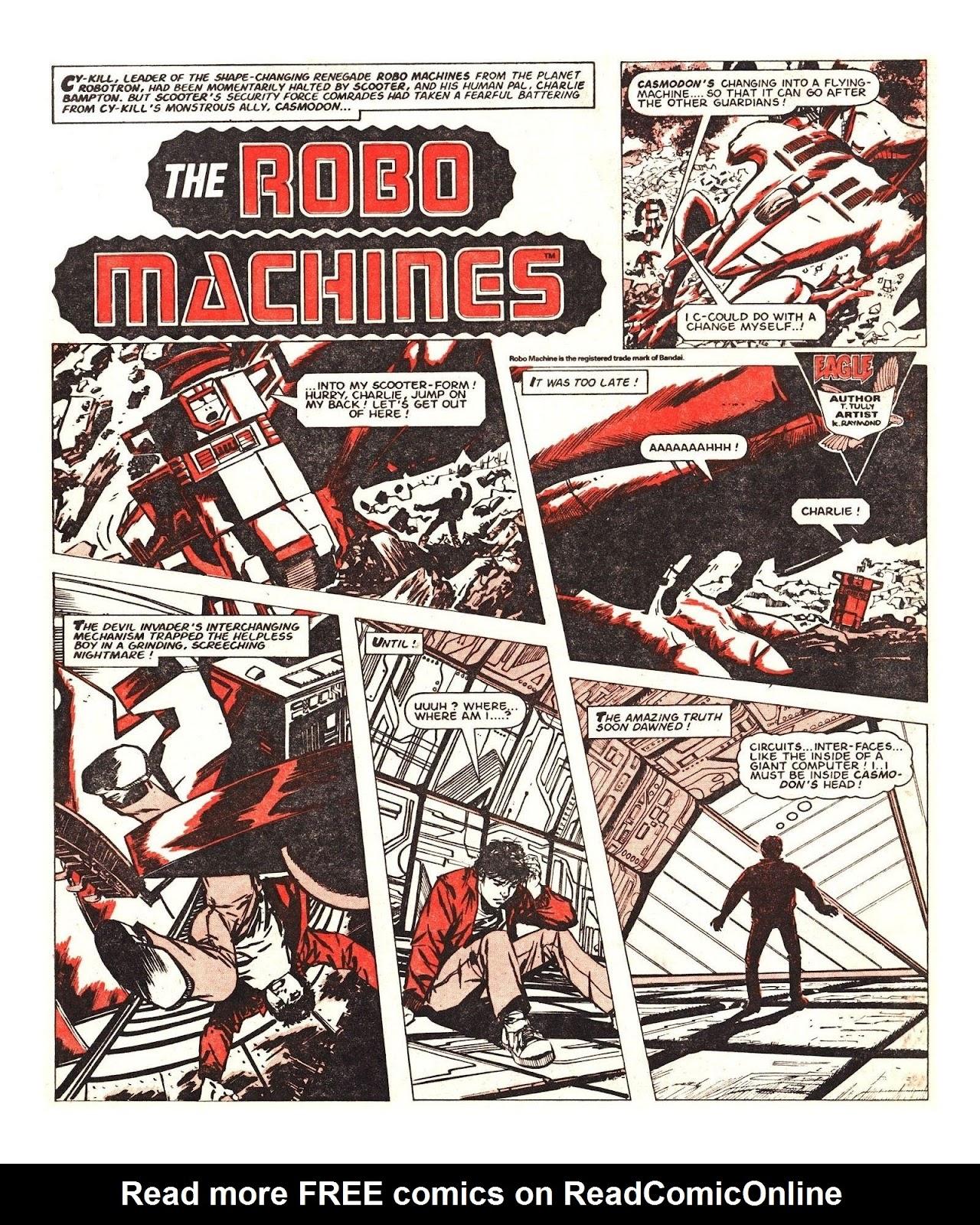 Read online Robo Machines comic -  Issue # TPB - 109