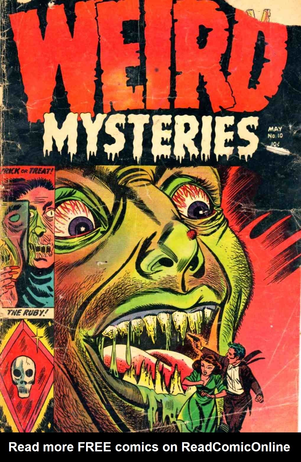 Weird Mysteries (1952) 10 Page 1