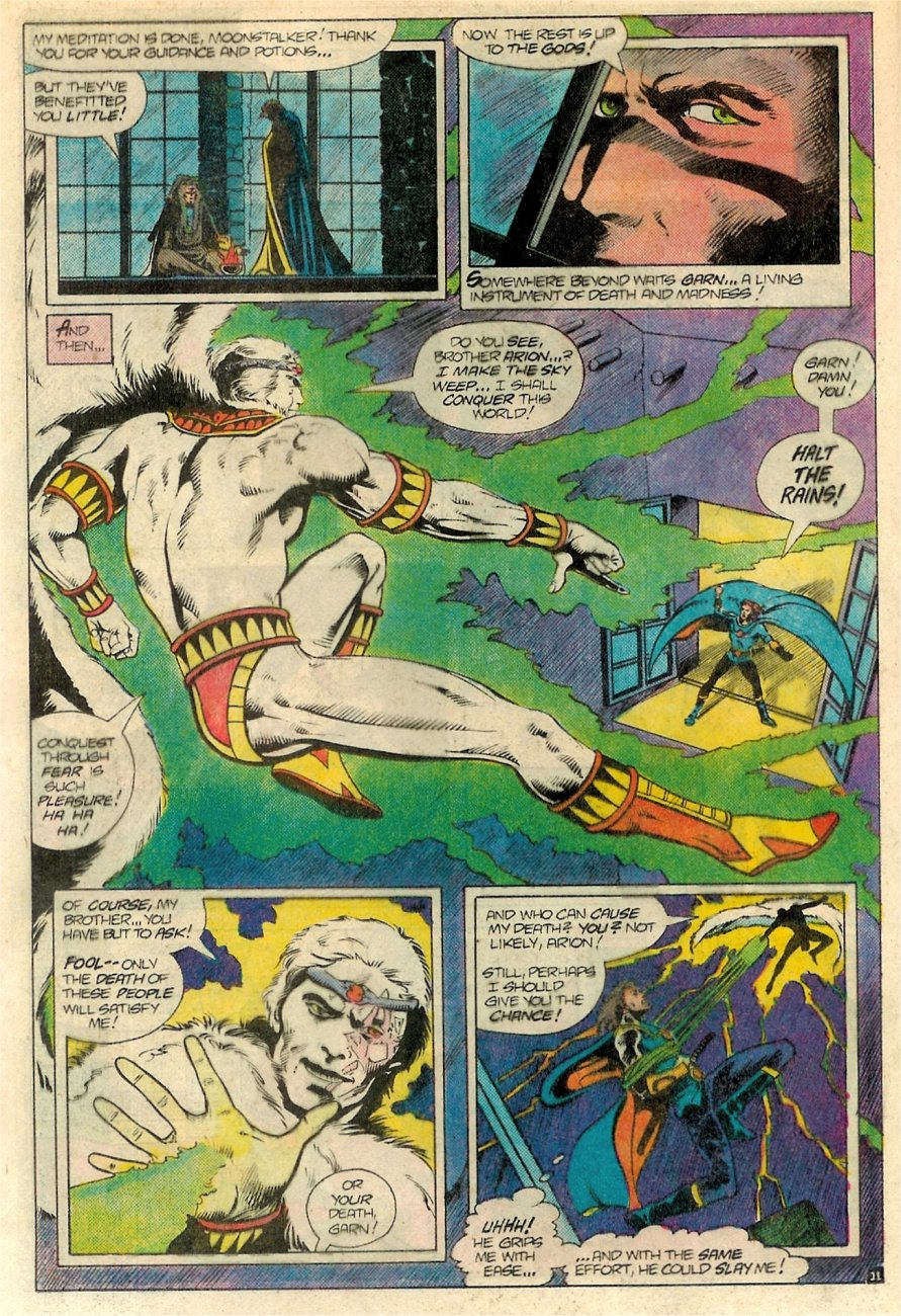 Read online Arion, Lord of Atlantis comic -  Issue #18 - 12