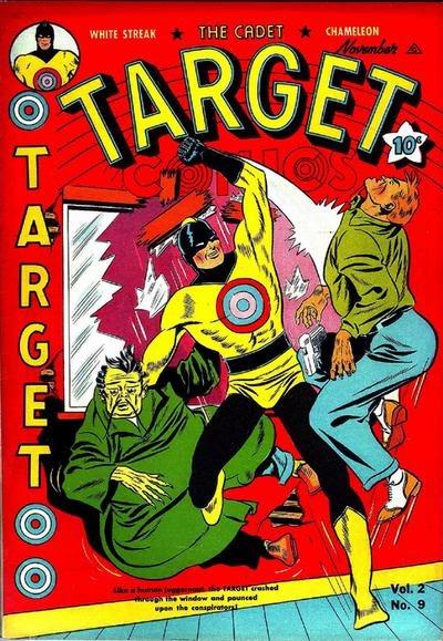 Target Comics 21 Page 1