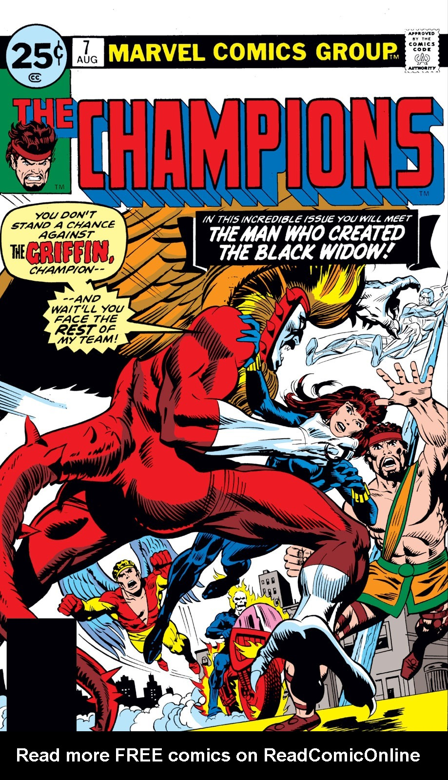 The Champions issue 7 - Page 1