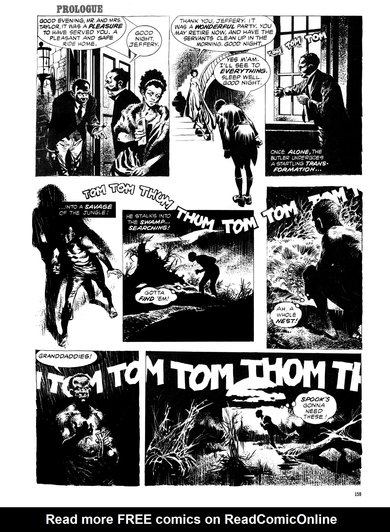 Read online Eerie Archives comic -  Issue # TPB 13 - 160