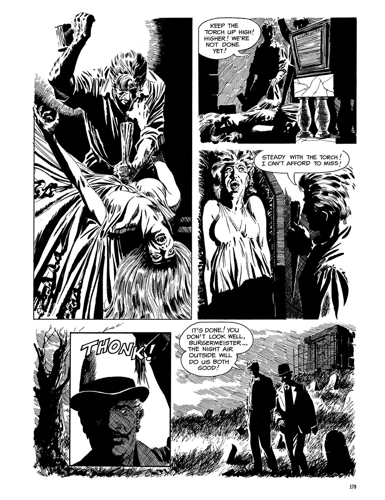 Read online Eerie Archives comic -  Issue # TPB 3 - 180
