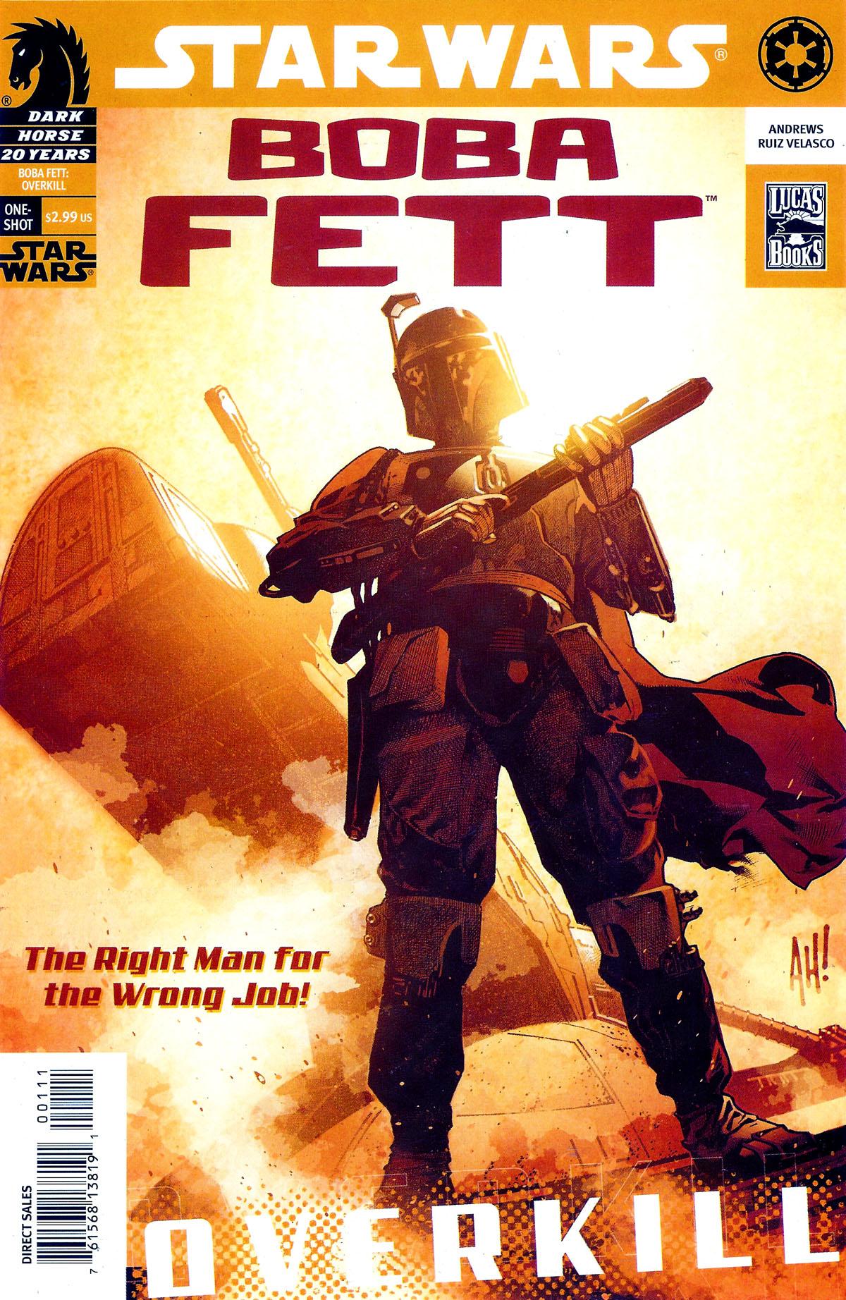Star Wars: Boba Fett - Overkill Full Page 1