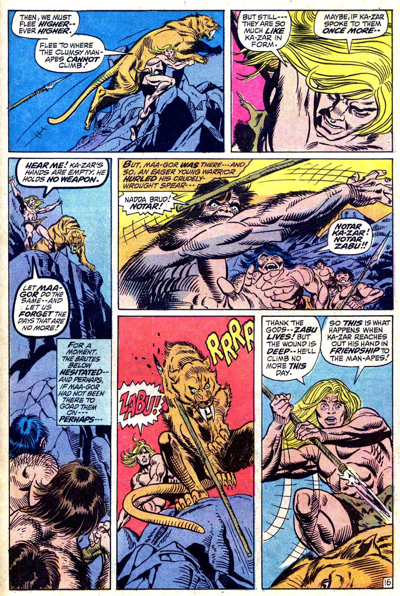 Read online Astonishing Tales (1970) comic -  Issue #11 - 17