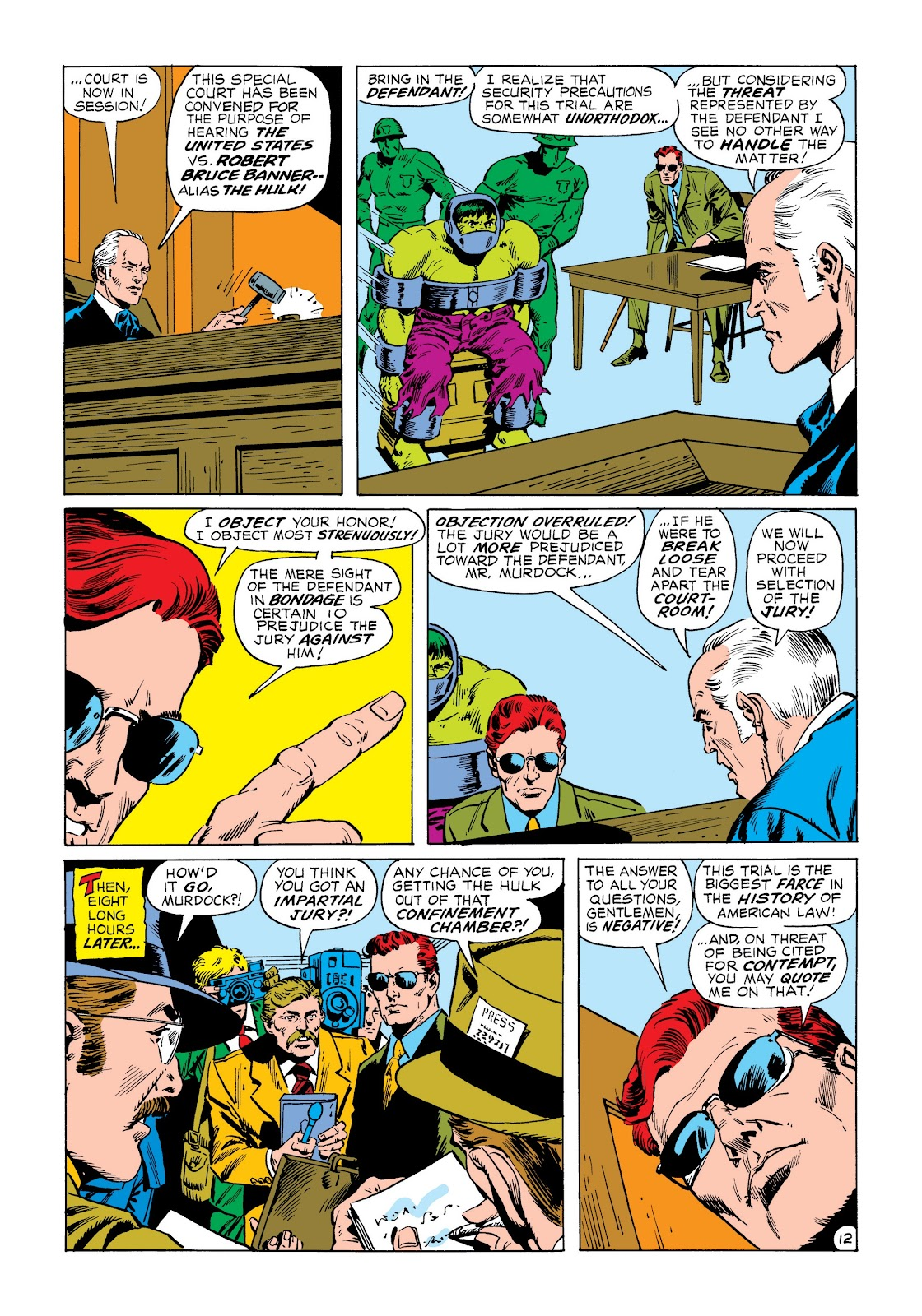 Read online Marvel Masterworks: The Incredible Hulk comic -  Issue # TPB 8 (Part 3) - 8