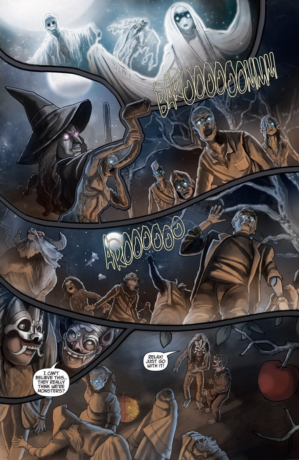 Read online Trick 'r Treat: Days of the Dead comic -  Issue # TPB - 116
