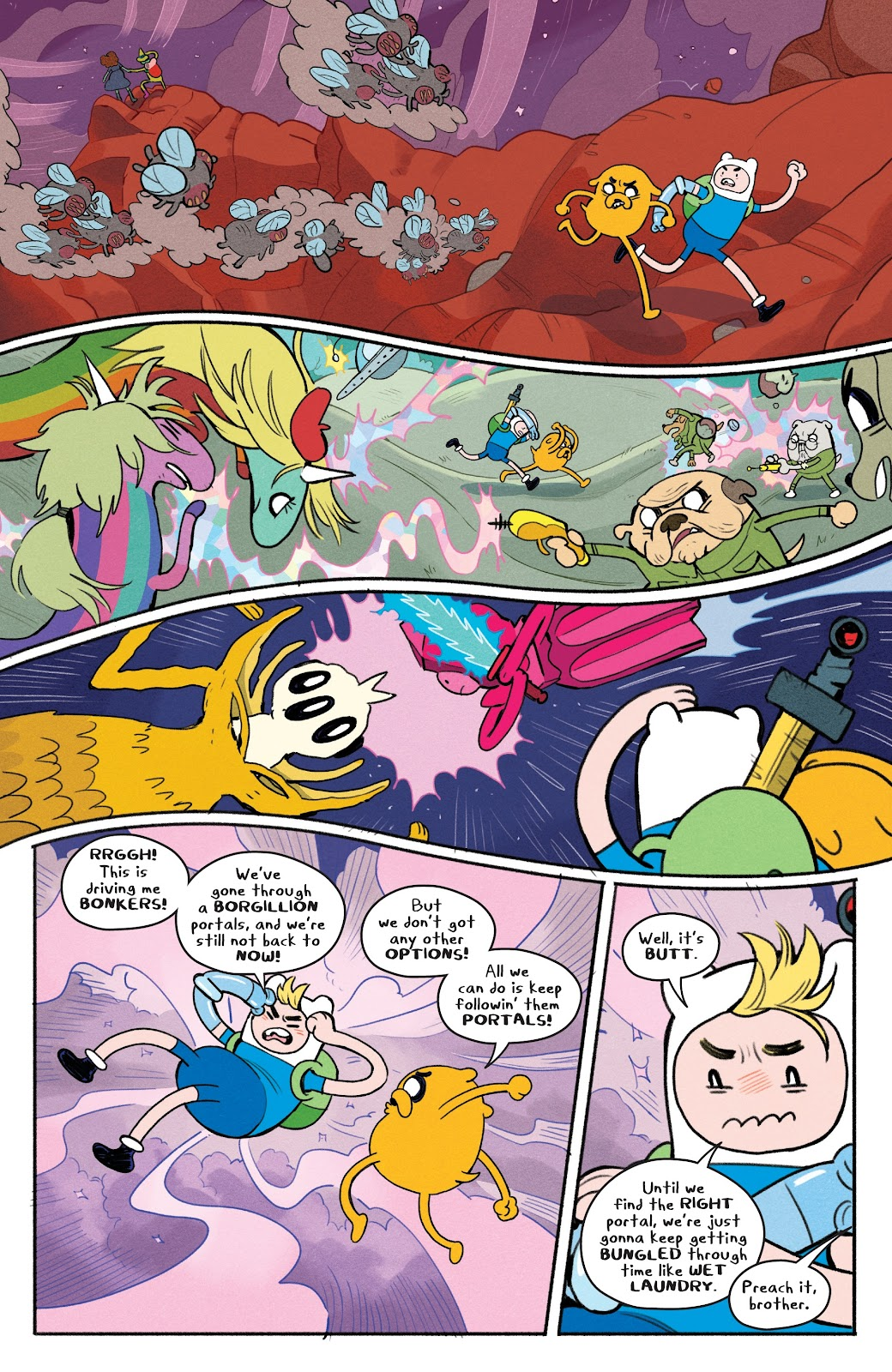 Read online Adventure Time: Beginning of the End comic -  Issue # _TPB - 84