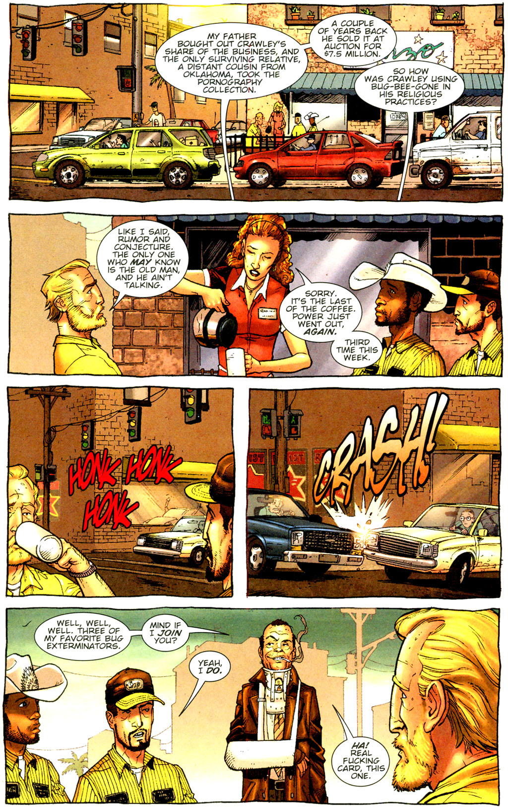 Read online The Exterminators comic -  Issue #9 - 8