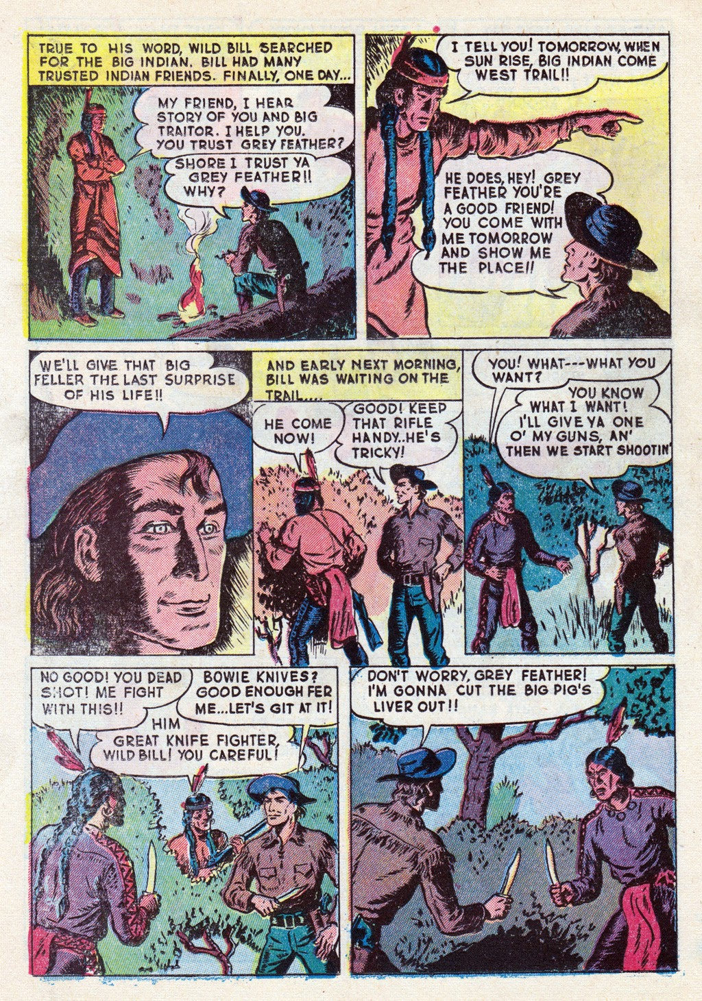 Cowboy Western Comics (1948) issue 18 - Page 16