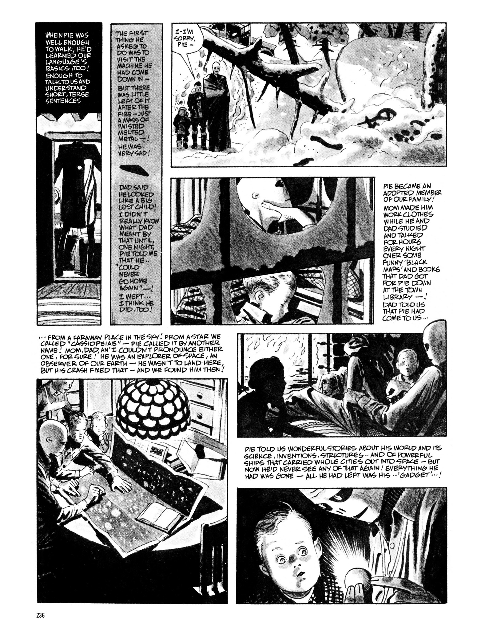 Read online Eerie Archives comic -  Issue # TPB 13 - 237