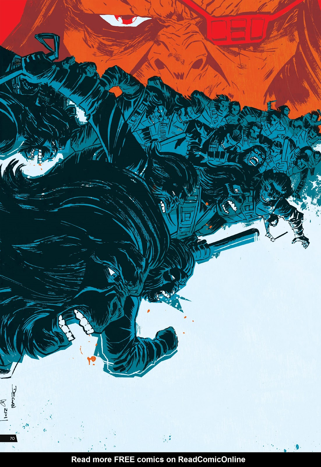 Read online Planet of the Apes Artist Tribute comic -  Issue # TPB - 70