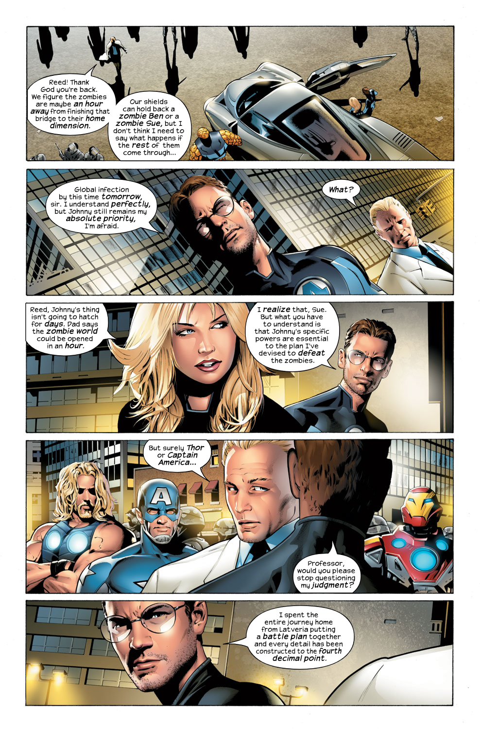Read online Ultimate Fantastic Four (2004) comic -  Issue #32 - 5