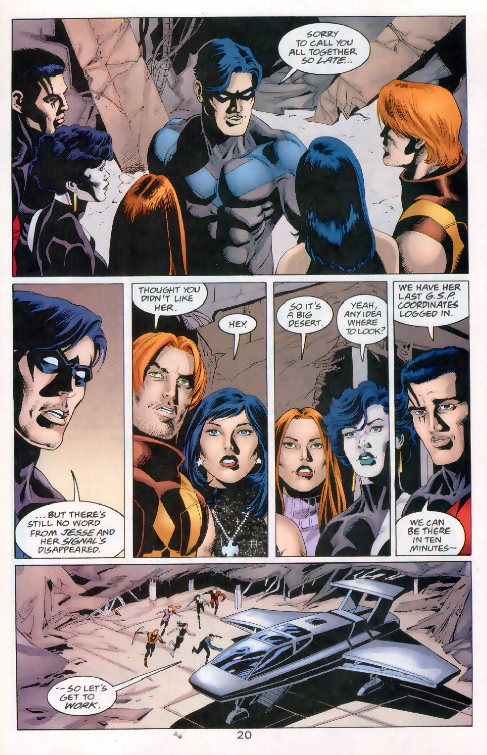 Read online The Titans (1999) comic -  Issue #45 - 21