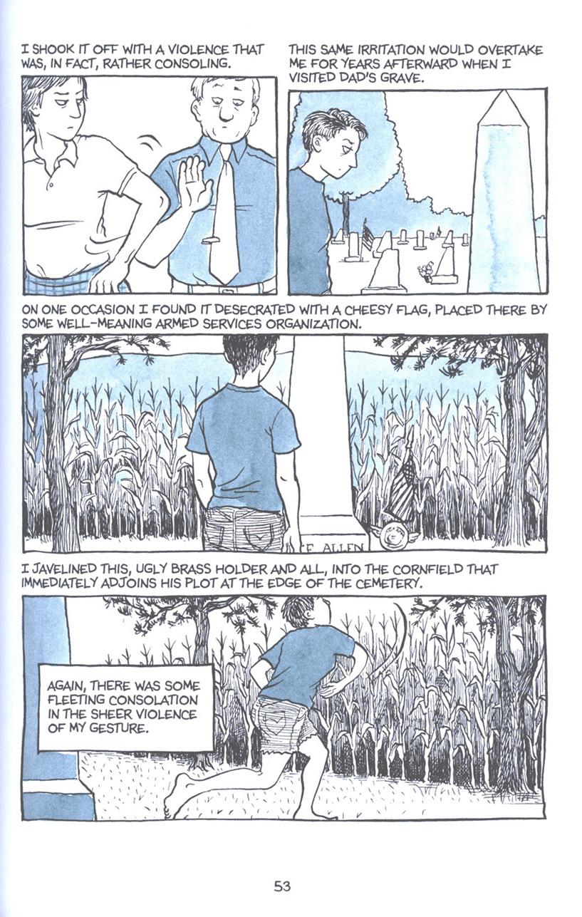 Read online Fun Home: A Family Tragicomic comic -  Issue # TPB - 60