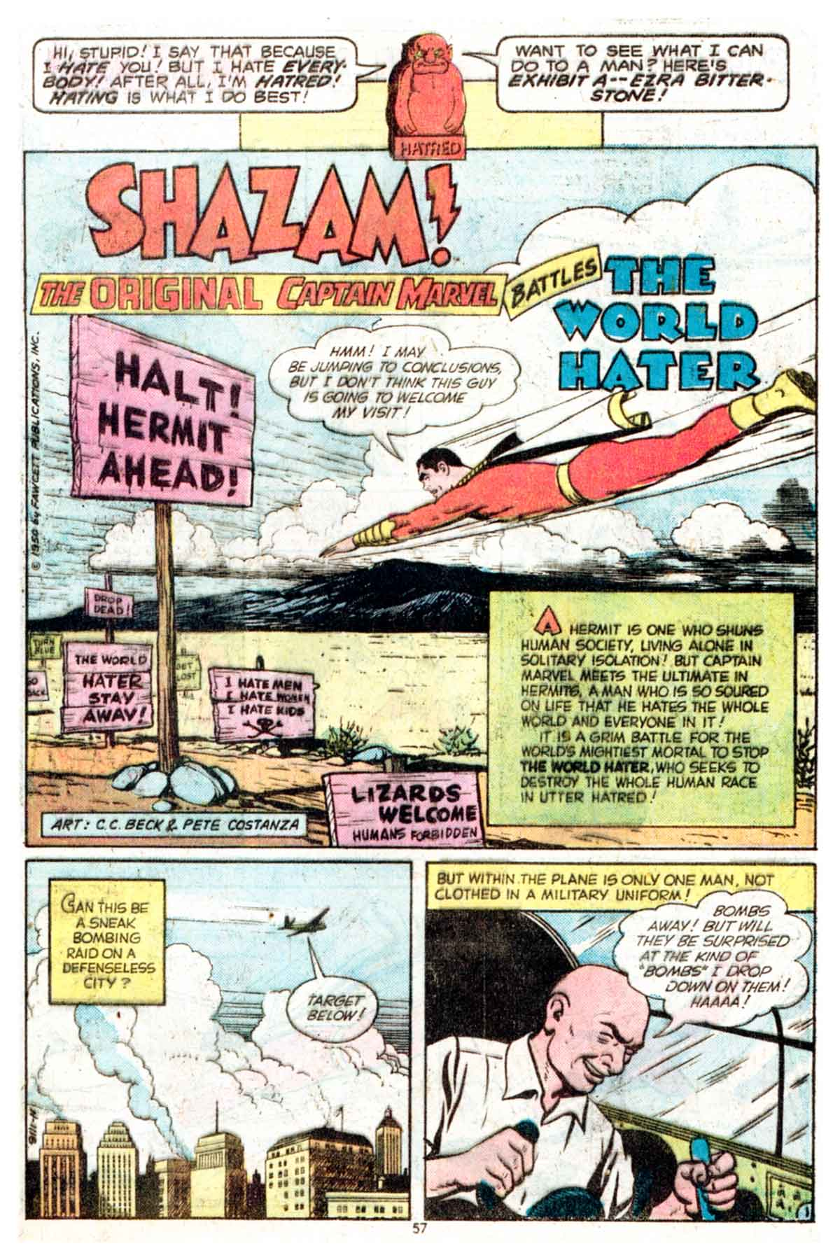 Read online Shazam! (1973) comic -  Issue #16 - 57