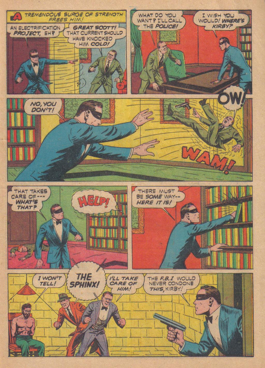 Exciting Comics (1940) issue 13 - Page 57