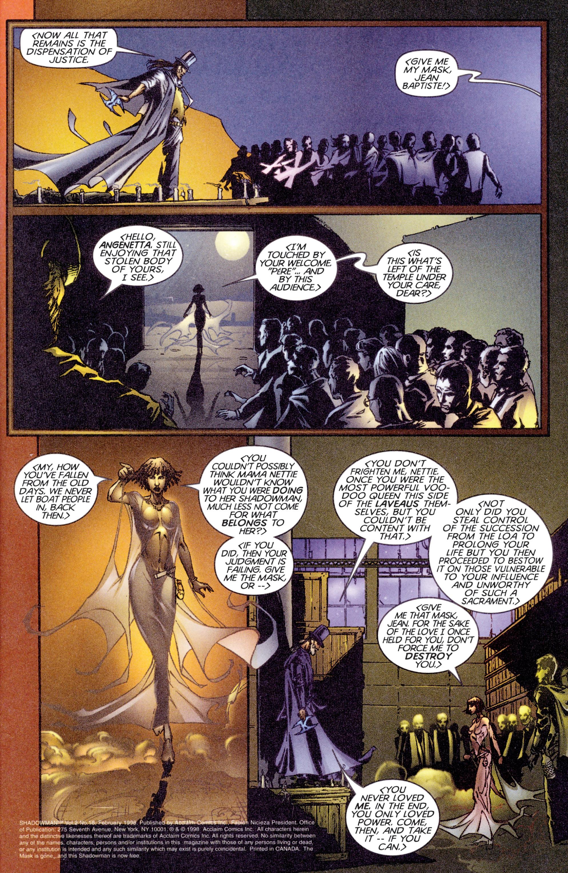 Read online Shadowman (1997) comic -  Issue #16 - 4
