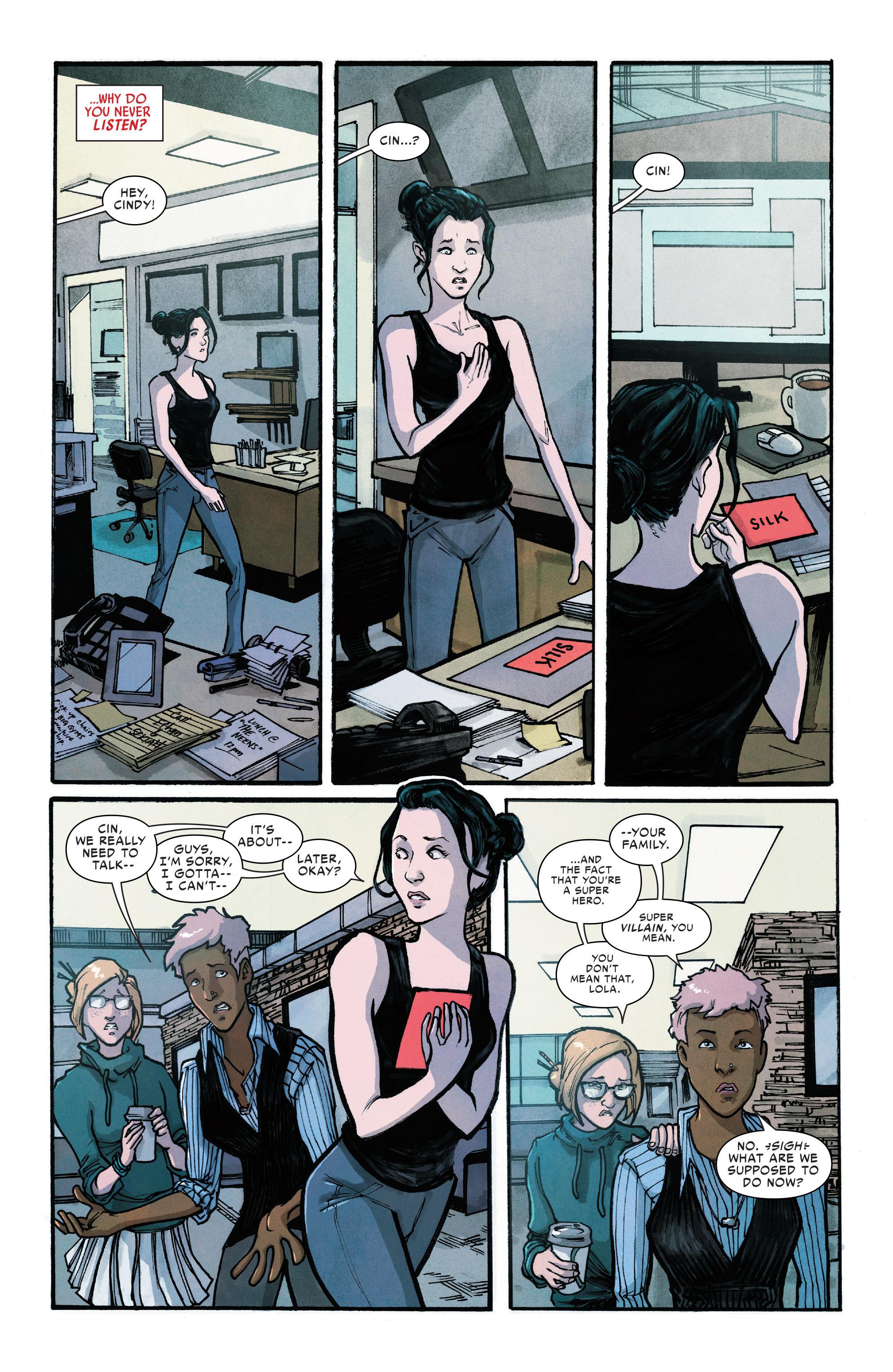 Read online Silk (2016) comic -  Issue #10 - 4