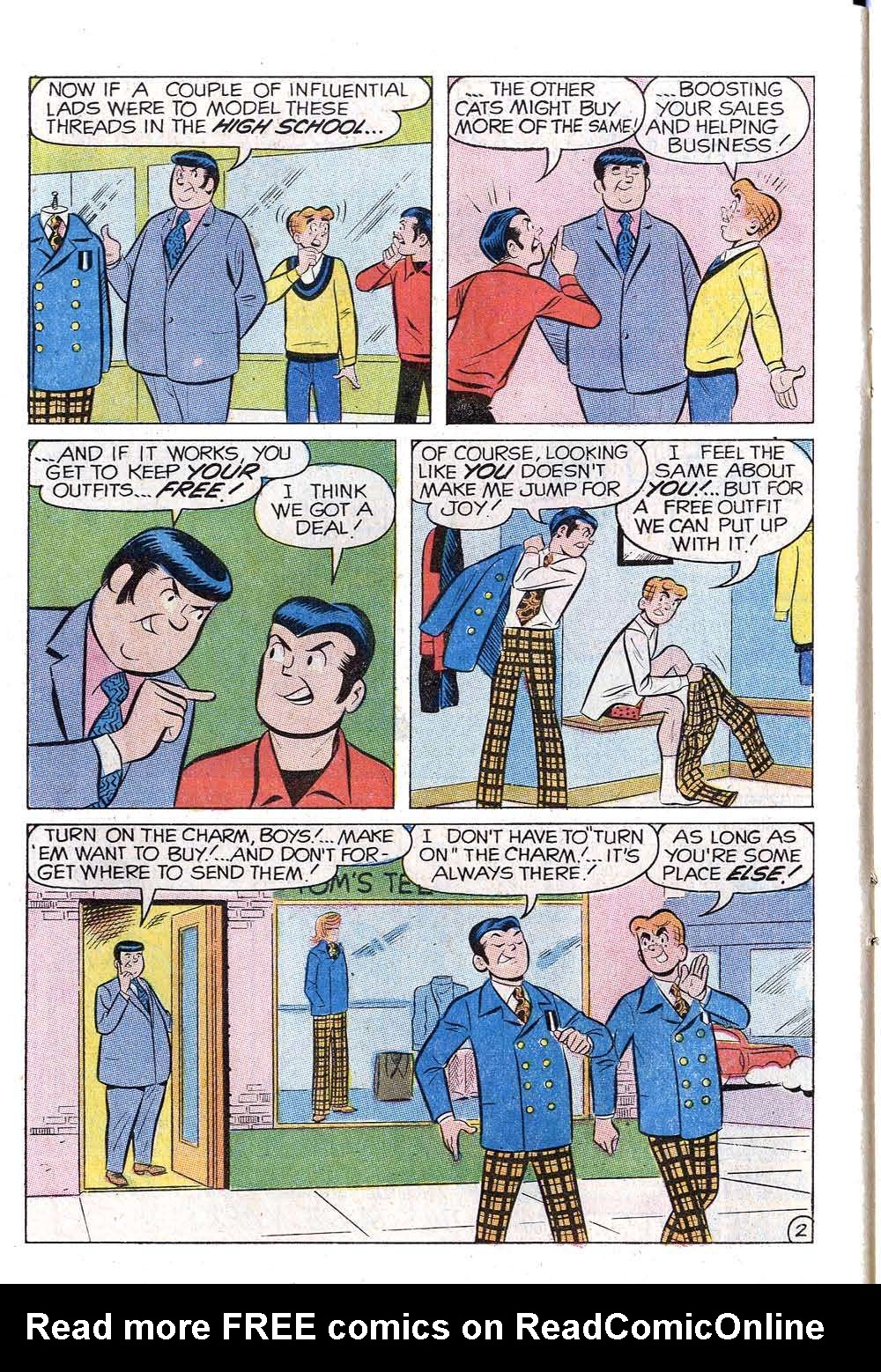 Read online Archie (1960) comic -  Issue #202 - 14