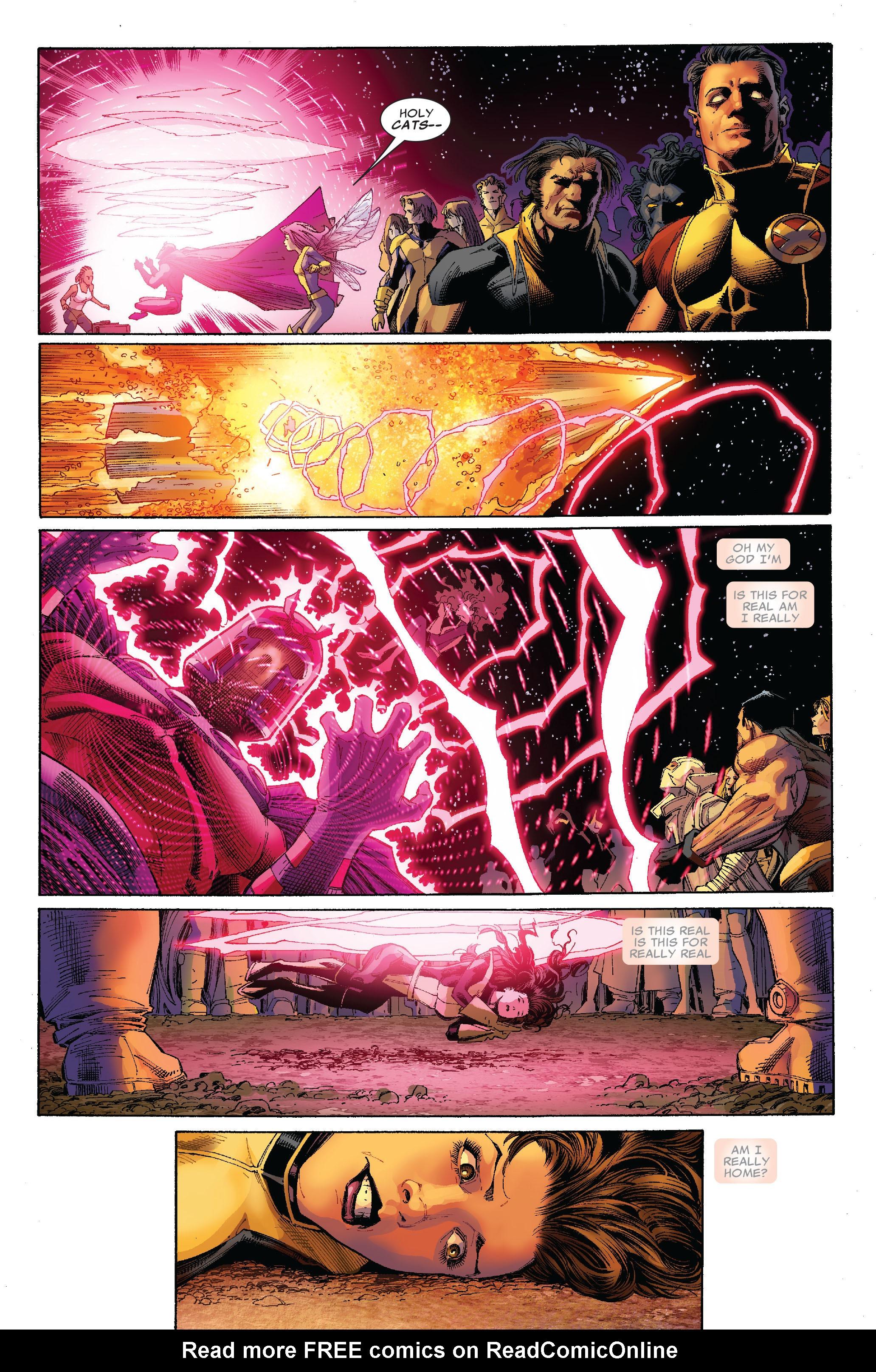 Read online Uncanny X-Men (1963) comic -  Issue #522 - 19