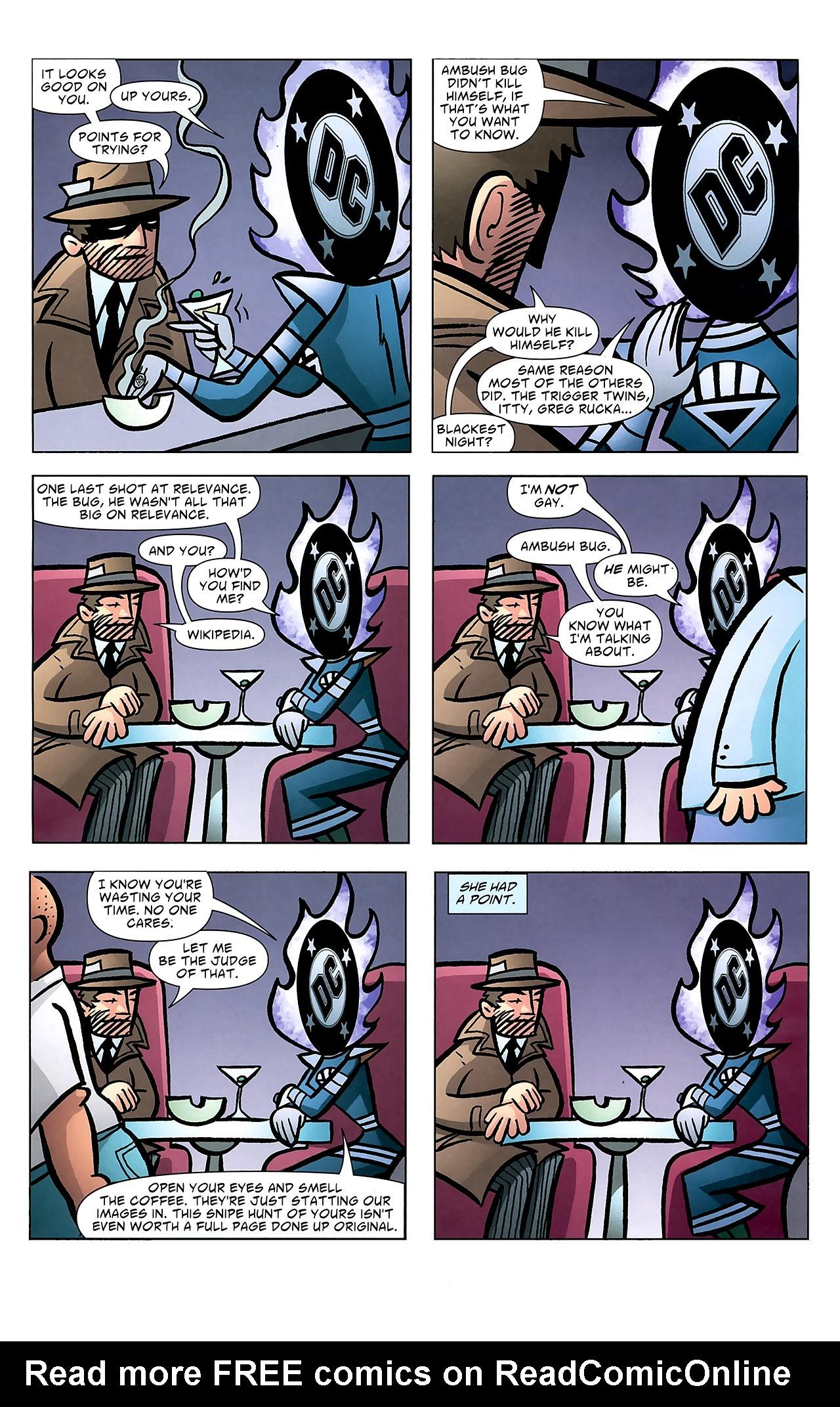 Read online Ambush Bug: Year None comic -  Issue #7 - 5
