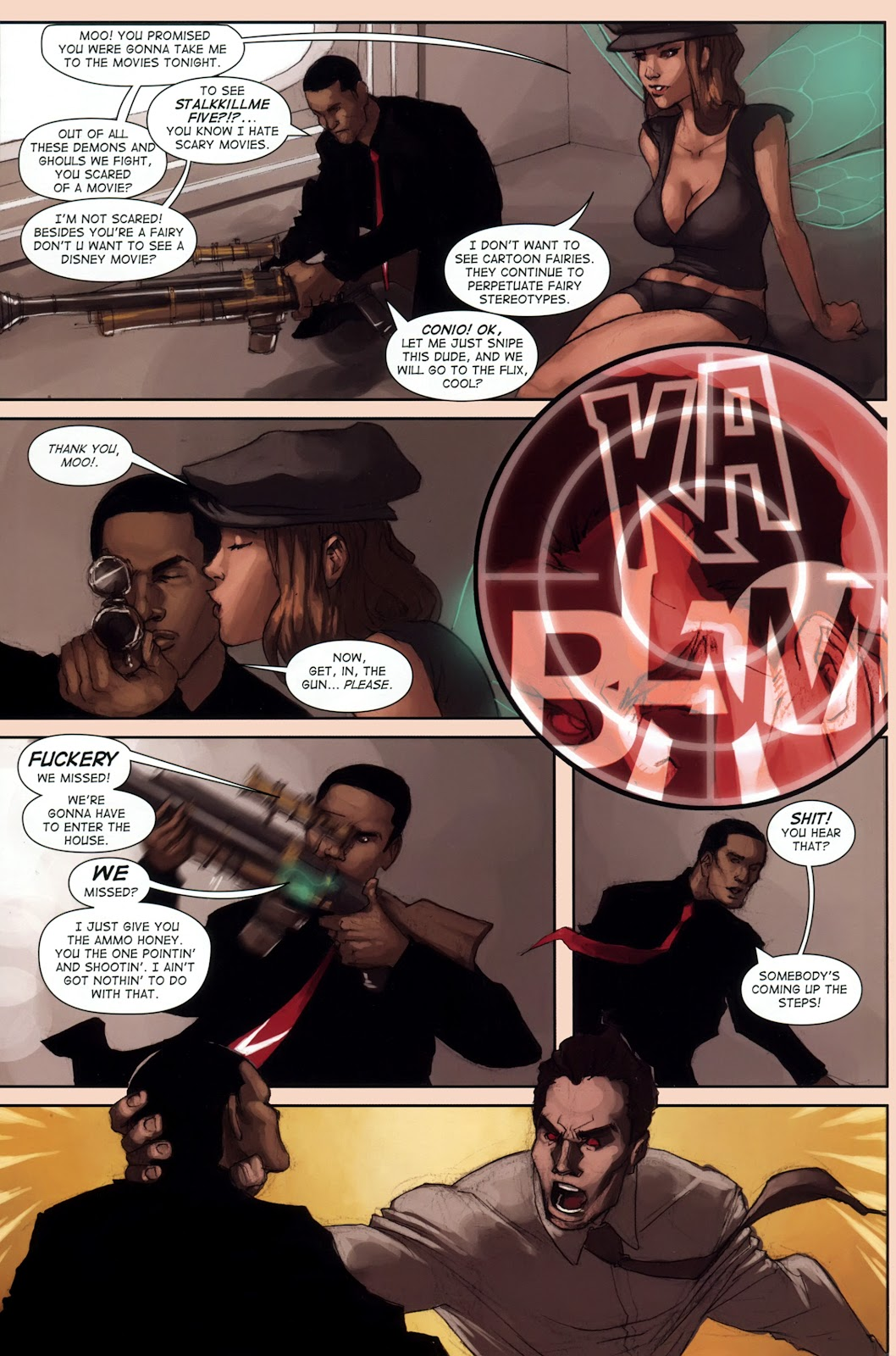 Read online Vescell comic -  Issue #1 - 26