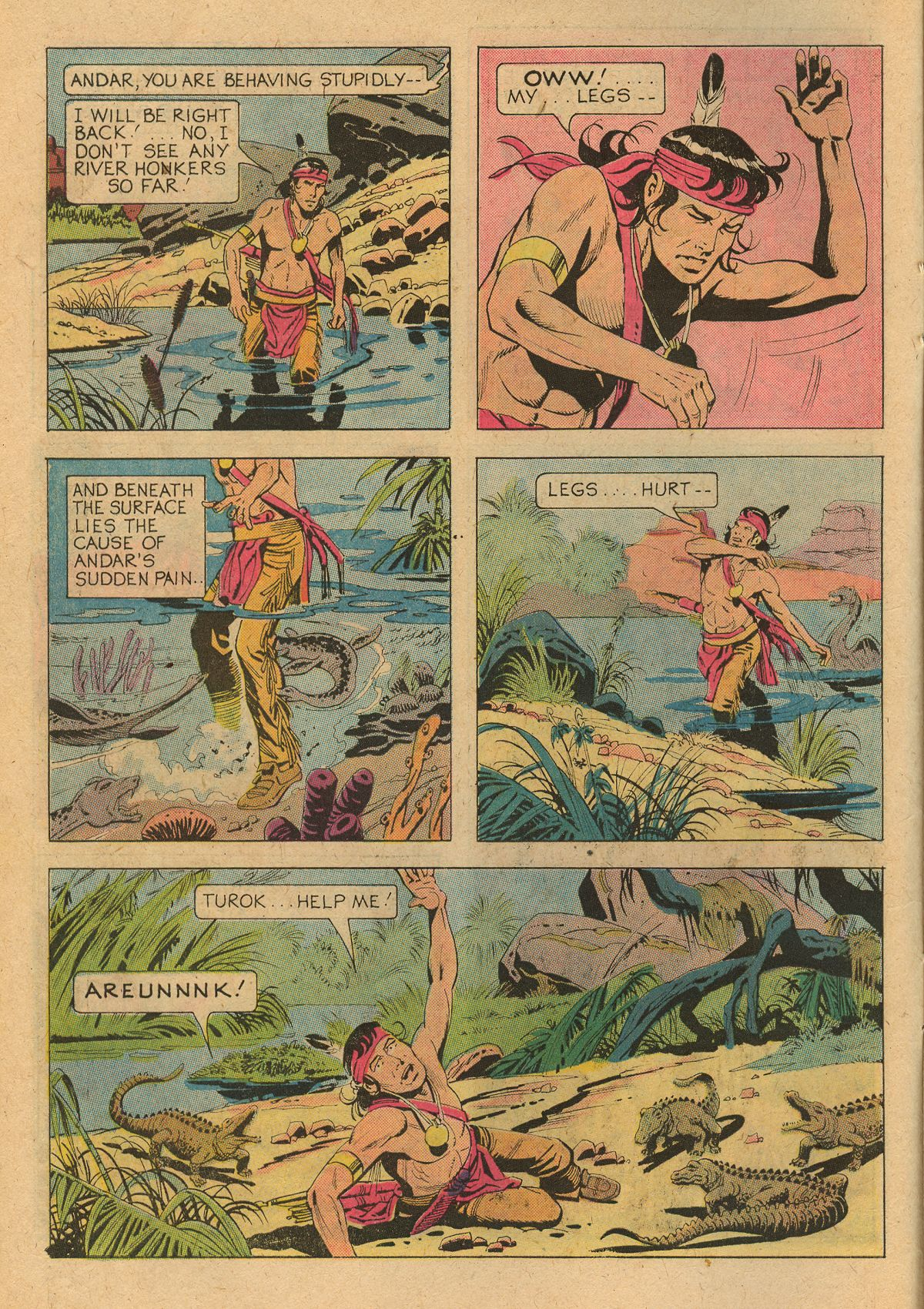 Read online Turok, Son of Stone comic -  Issue #107 - 10