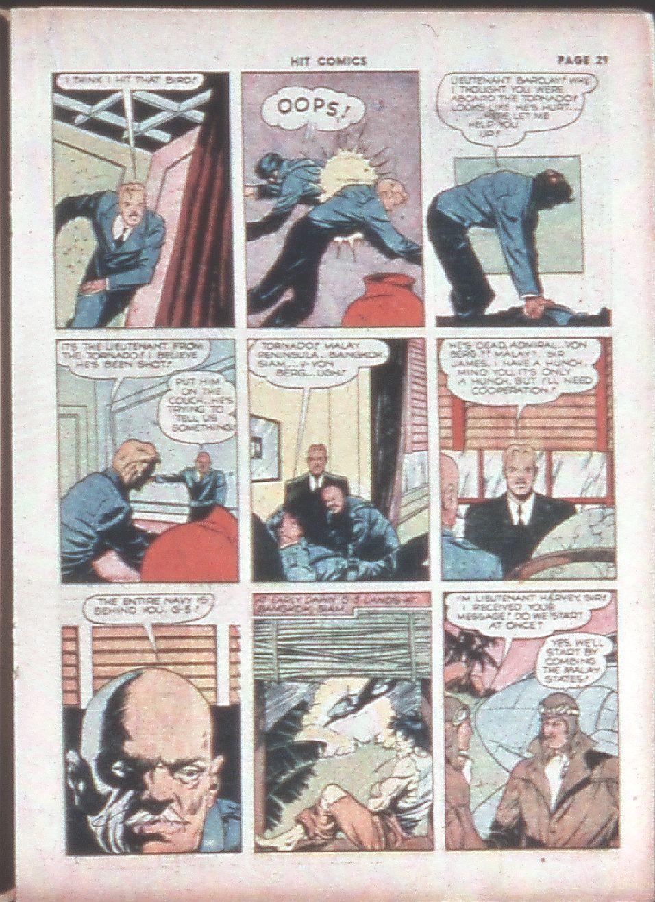 Read online Hit Comics comic -  Issue #8 - 31