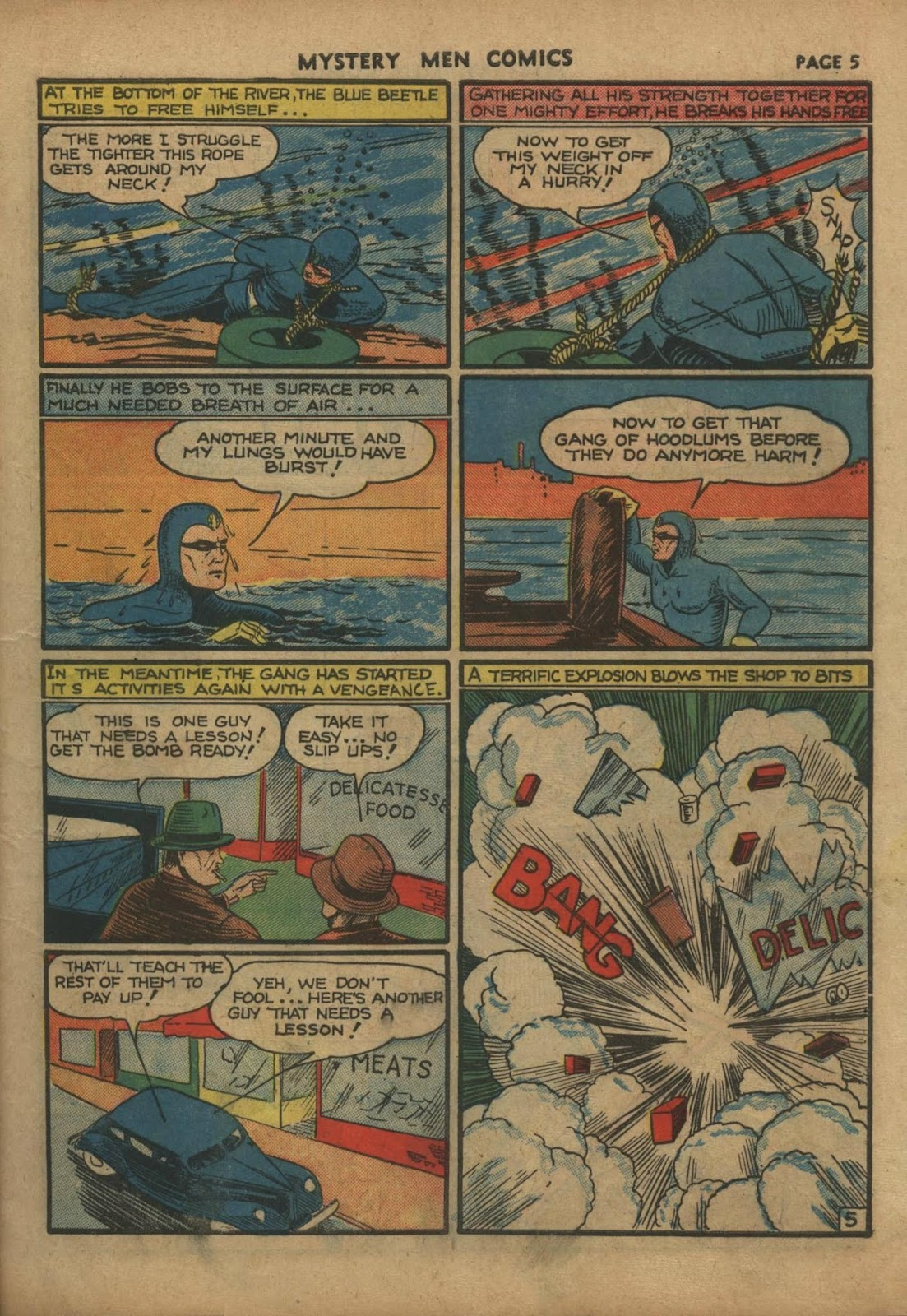 Mystery Men Comics issue 10 - Page 7
