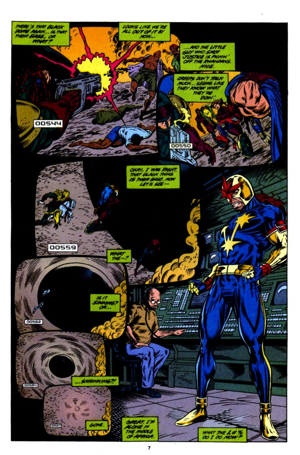 The New Warriors Issue #55 #59 - English 7