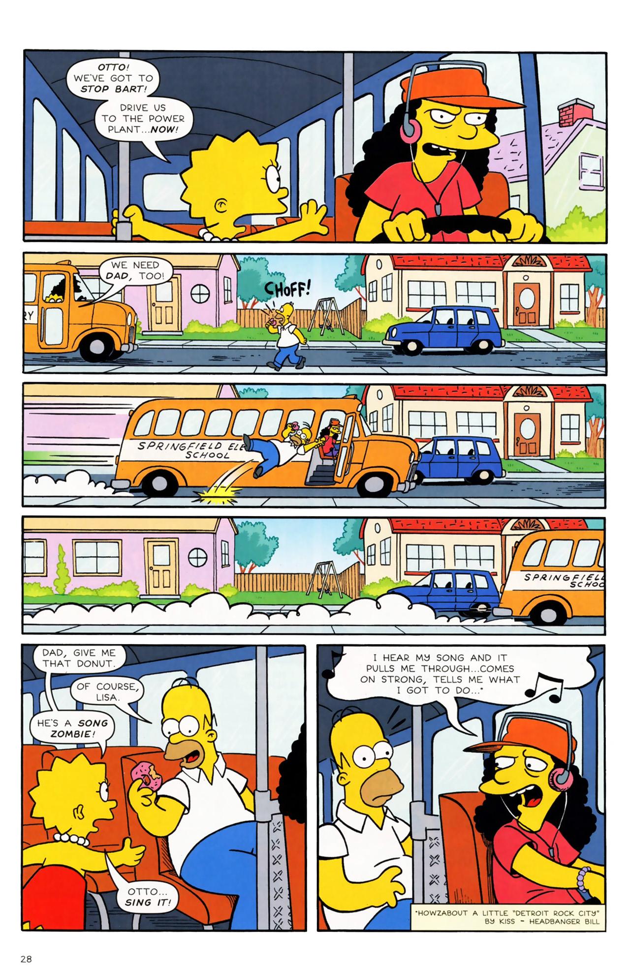 Read online Simpsons Comics comic -  Issue #170 - 21