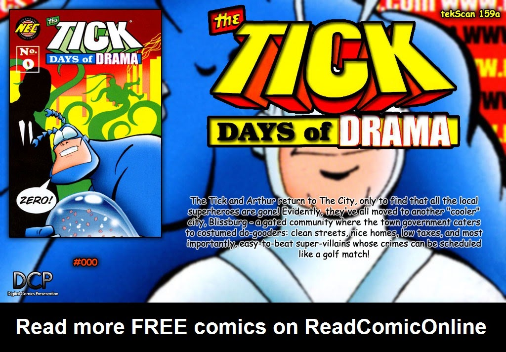 Read online The Tick: Days of Drama comic -  Issue #0 - 13