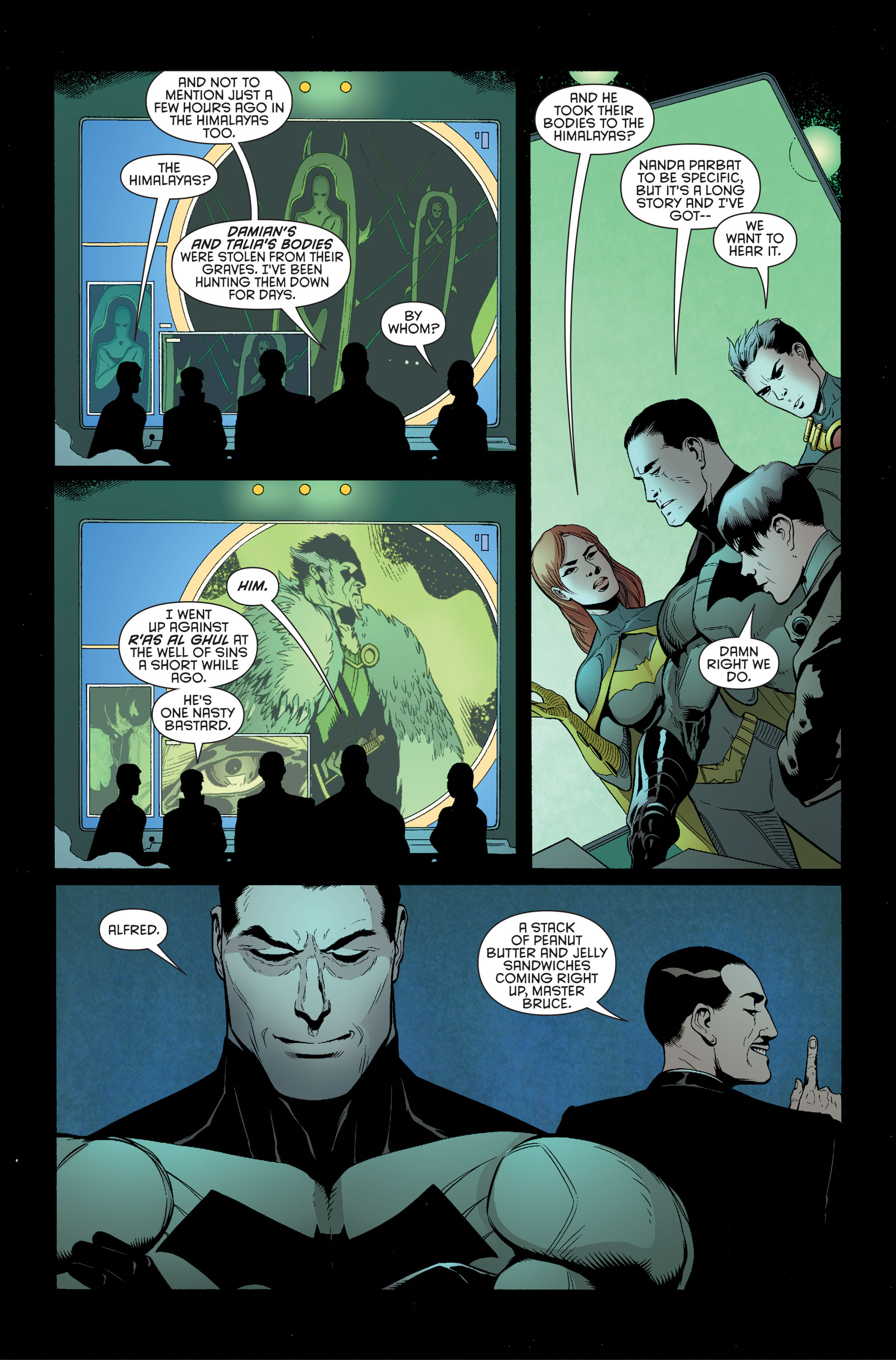 Read online Batman and Robin (2011) comic -  Issue #34 - 8