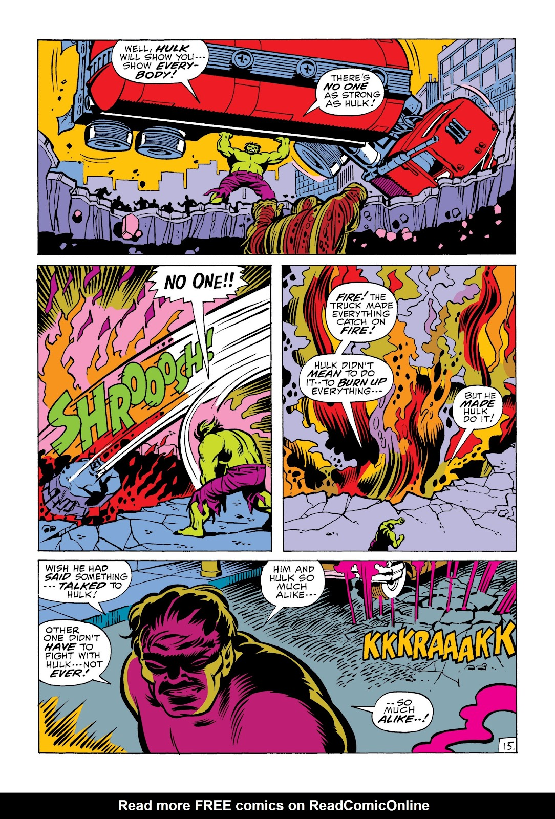Read online Marvel Masterworks: The Incredible Hulk comic -  Issue # TPB 6 (Part 2) - 68