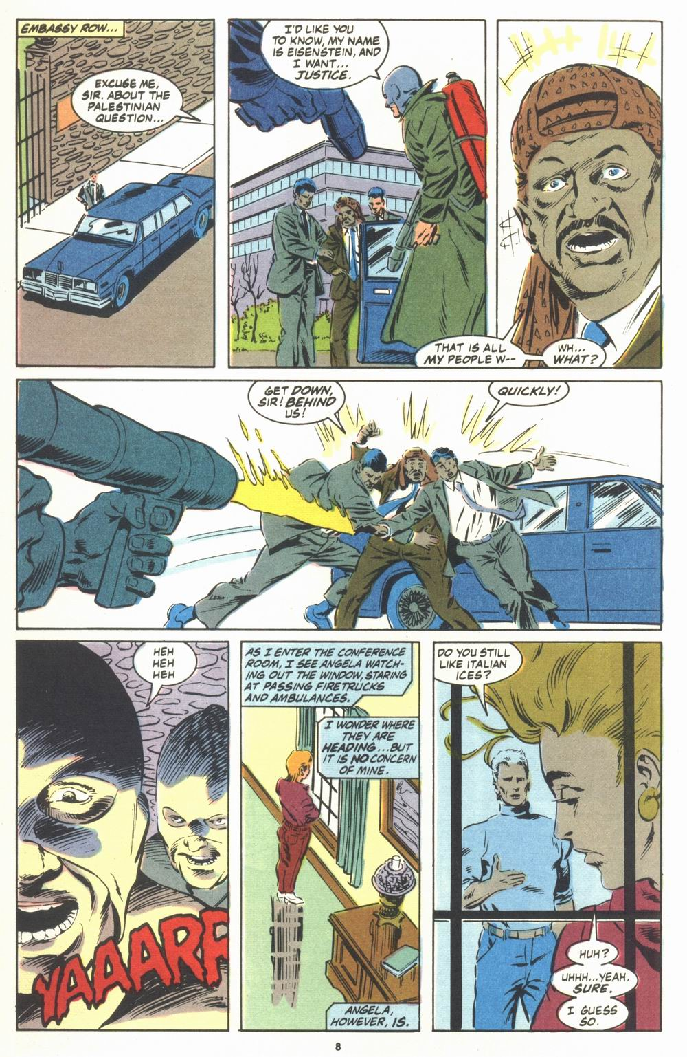 Read online Justice (1986) comic -  Issue #23 - 10