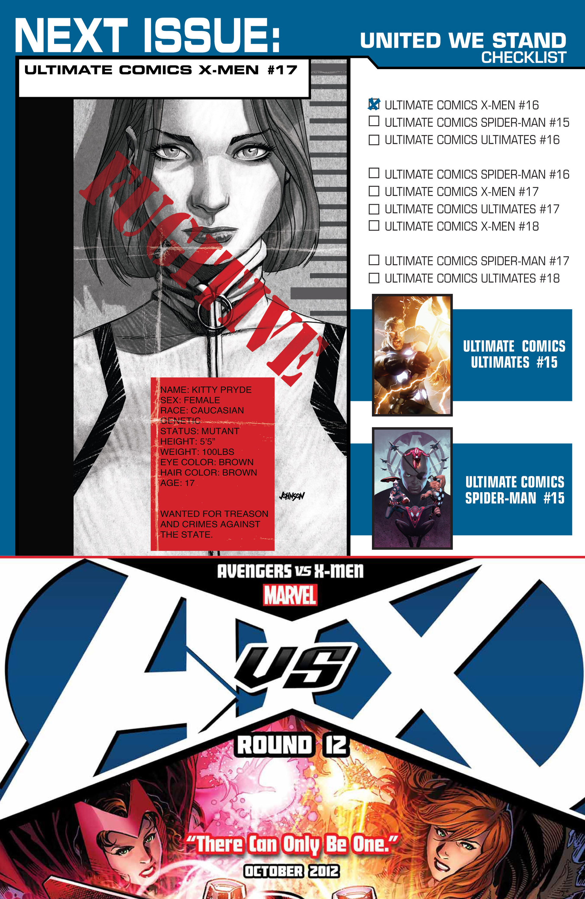 Read online Ultimate Comics X-Men comic -  Issue #16 - 25
