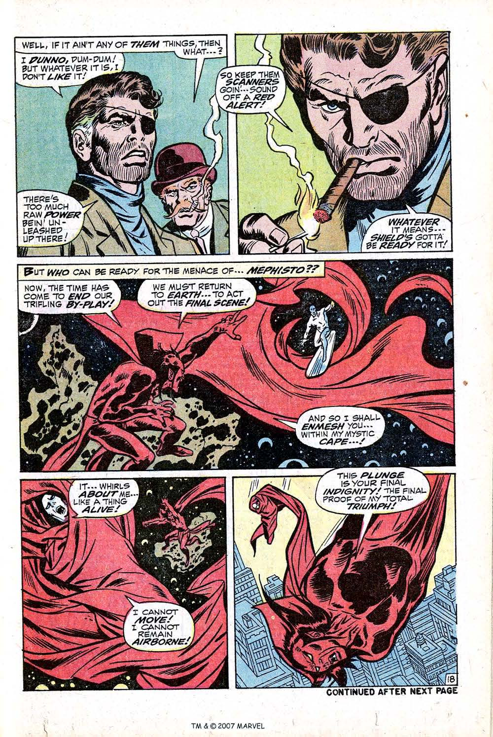 Read online Silver Surfer (1968) comic -  Issue #16 - 25