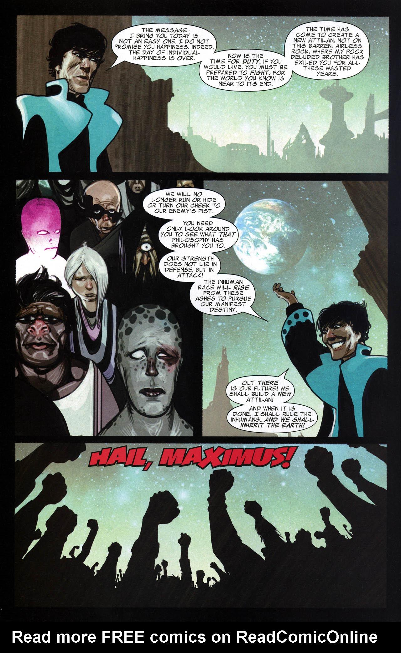 Read online Silent War comic -  Issue #6 - 22