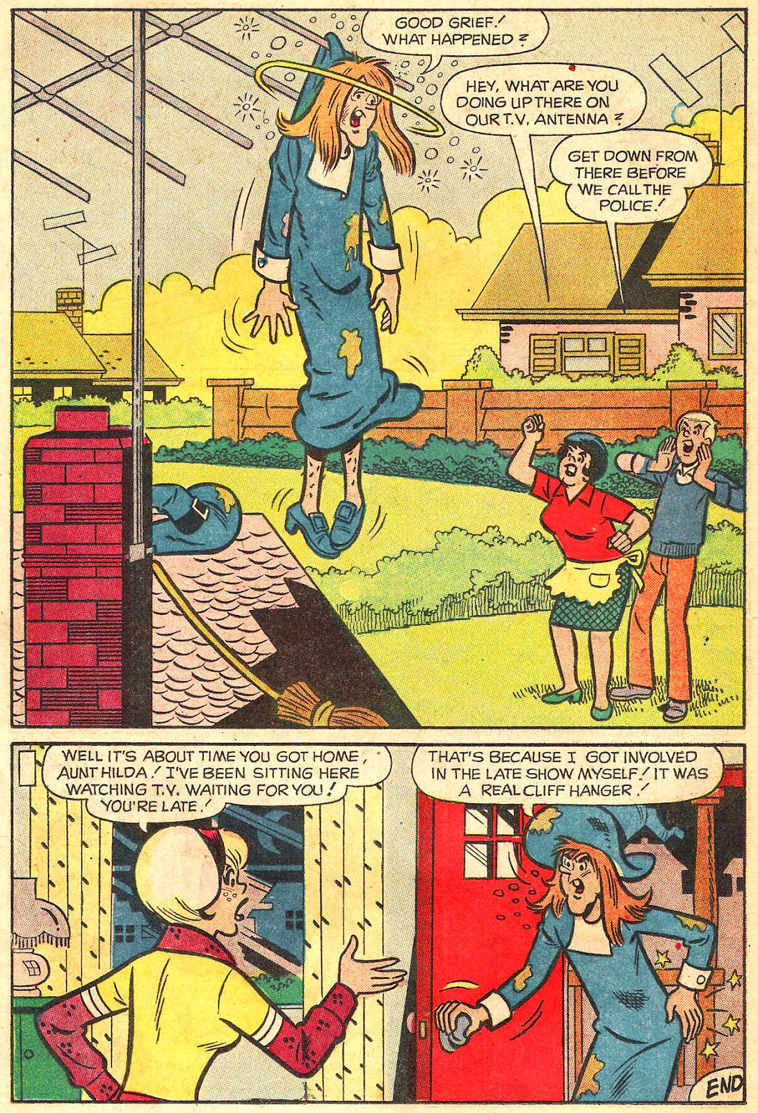 Sabrina The Teenage Witch (1971) Issue #17 #17 - English 30